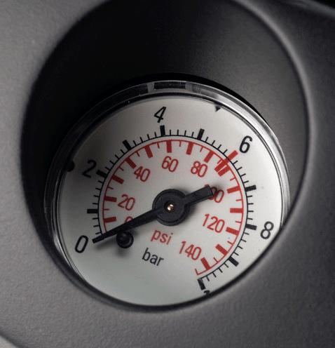 Đồng hồ đo áp lực trên bình phun Gloria