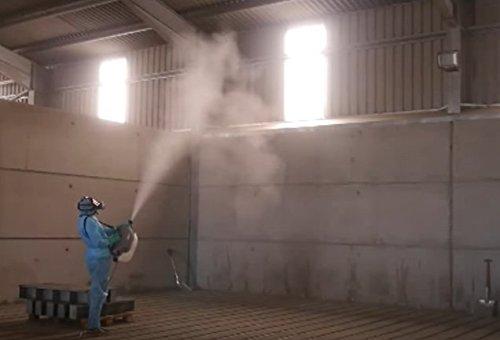 Phun sương diệt côn trùng bằng vectorfog c100 plus