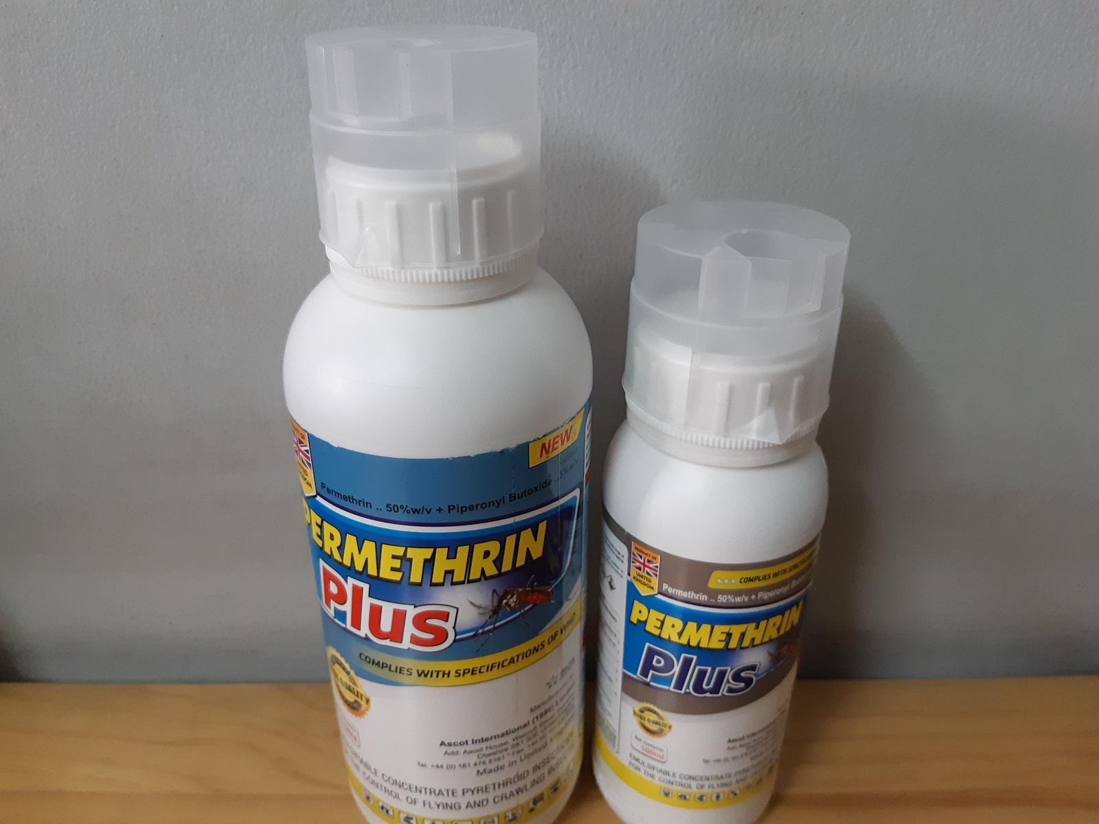 Hóa chất diệt muỗi và côn trùng hữu hiệu Permethrin Plus