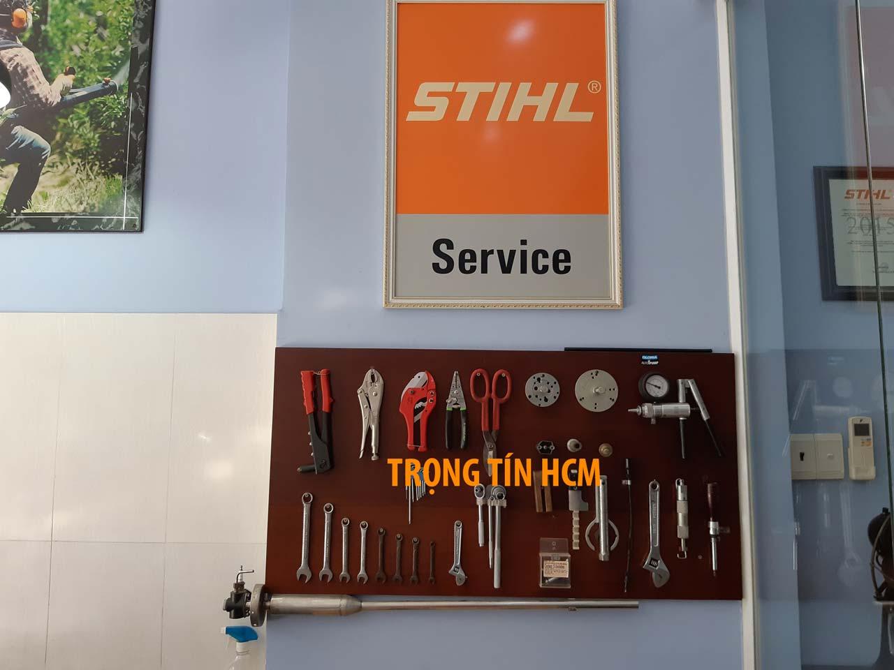 Dịch vụ sửa chữa thiết bị stihl uy tin chính hãng - Trọng Tín HCM